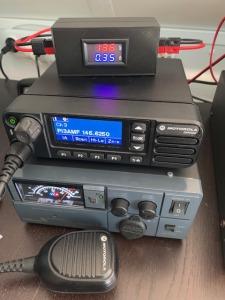 VA-meter in gebruik