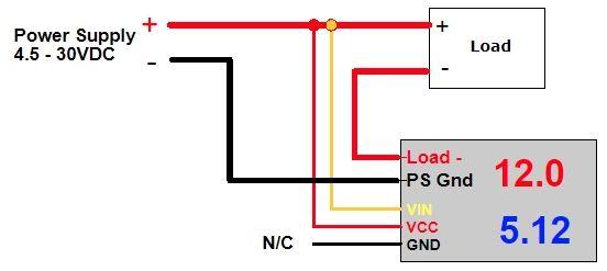 Aansluitschema DSN-VC288 module